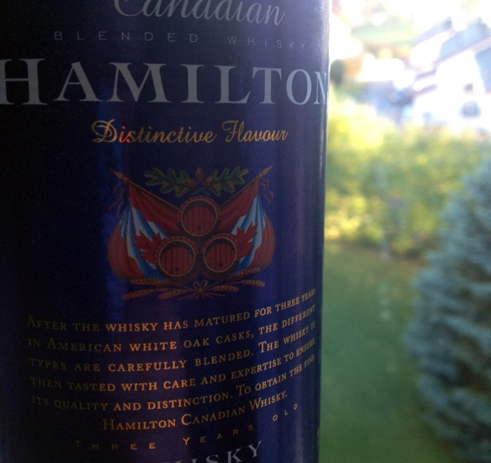 Hamilton Canadian Whisky