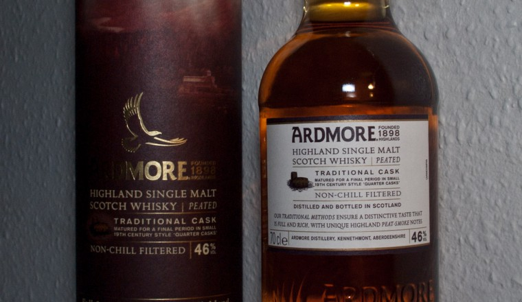 Ardmore – Highland Single Malt Scotch Whisky, Peated