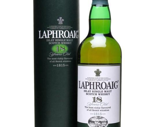 Laphroaig – 18 yrs