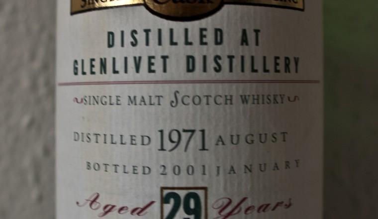 Glenlivet – Old Malt Cask, 29yrs, 1971-2001