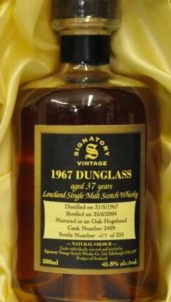 Dunglass – Signatory, 37yrs, 1967-2004