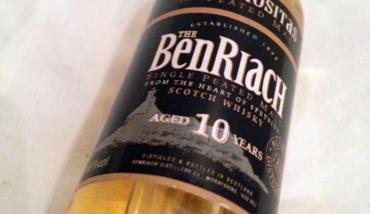 The BenRiach «Curiositas Peated» – 10 yrs