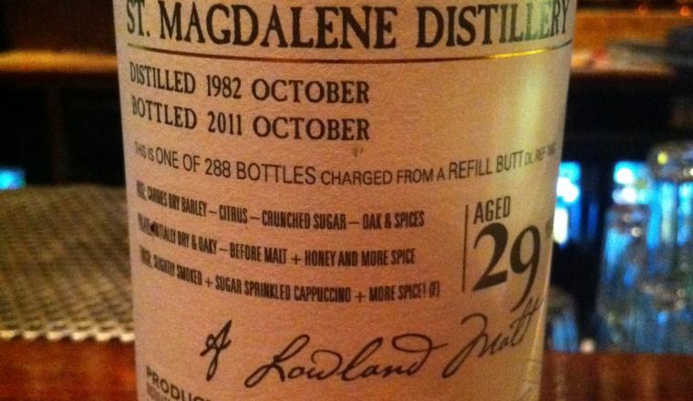 Saint Magdalene – Old Malt Cask, 29 yrs, okt. 1982 – okt. 2011