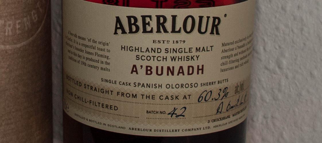 Aberlour – a'Bunadh, batch #42
