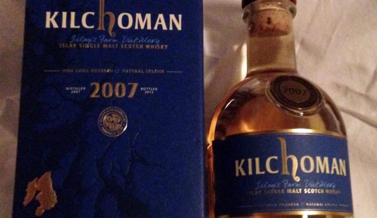 Kilchoman – Vintage 2007 release 6 yrs