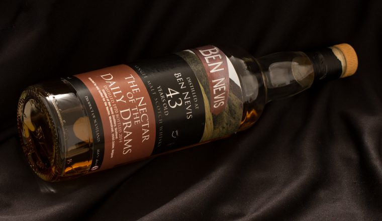 Ben Nevis – The Nectar of the Daily Drams, 43 yrs, 1970-2014