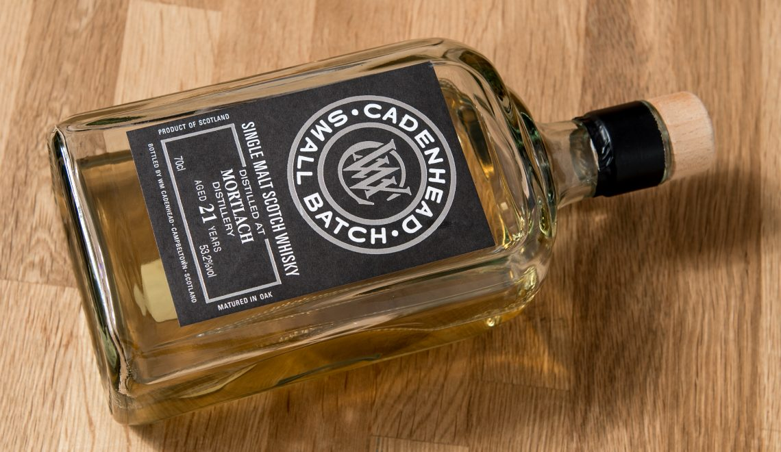 Mortlach – Cadenhead's Small Batch, 21 YO