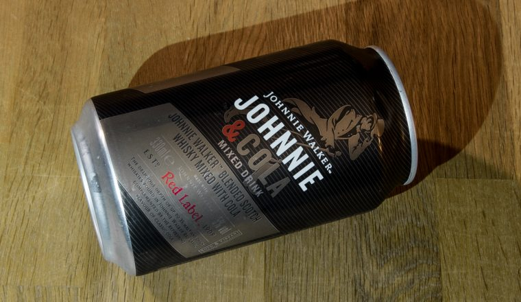 Johnnie & Cola – Mixed Drink